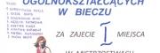 Mistrzostwo Powiatu w koszykówce dla dziewcząt z LO Biecz